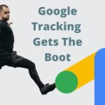 soccer player kicking out the google ads logo