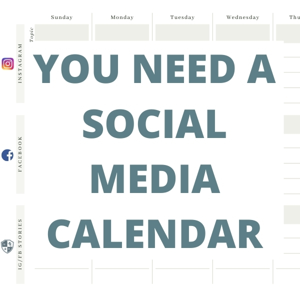 A Social Media Calendar: 5 Reasons Your Brand Needs This