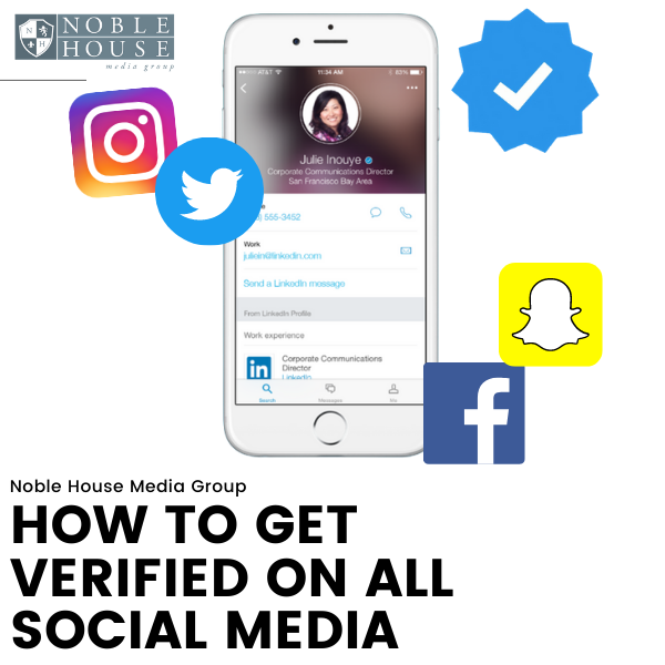 How To Get Verified On All Social Media