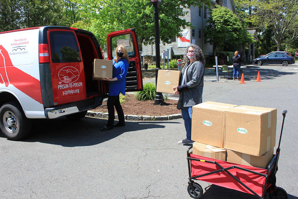 Leafy Donates Cleaners to Person-to-Person, Connecticut Non-Profit