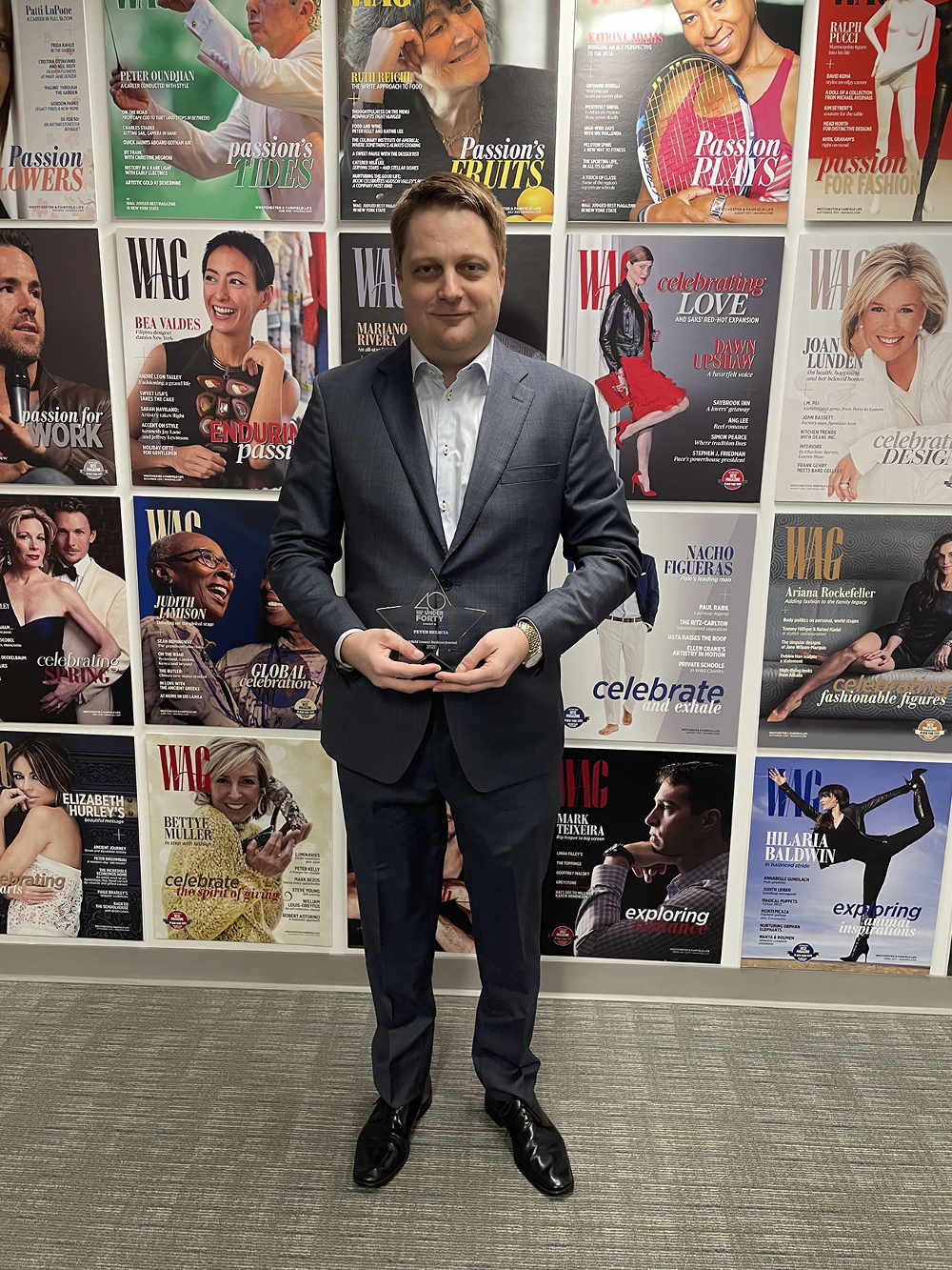 Peter Belbita – Noble House Media CEO Named Top 40 Under Forty Recipient