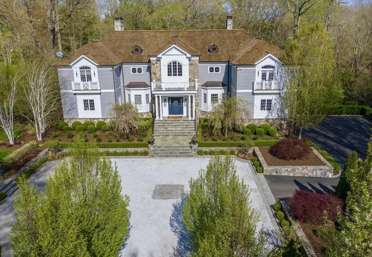 New Canaan Manor with Incredible Garden Shed on the Market