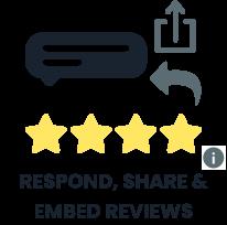 respond share embed reviews